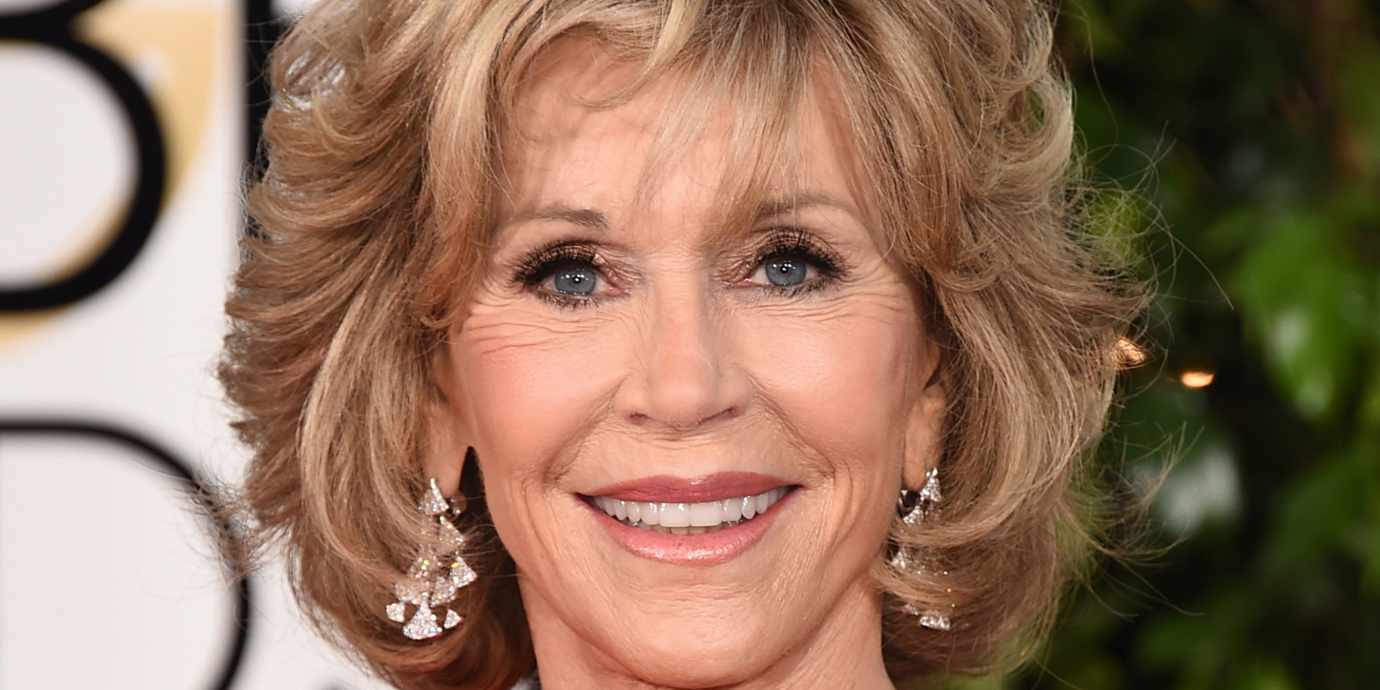 Jane Fonda arrives at the 72nd annual Golden Globe Awards at the Beverly Hilton Hotel on Sunday, Jan. 11, 2015, in Beverly Hills, Calif. (Photo by Jordan Strauss/Invision/AP)